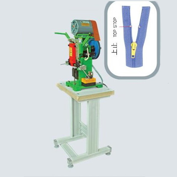 Nylon Open-end/Two Way Hit Backside Zipper Machinery (Semi-auto Line)